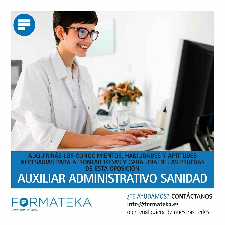 Auxiliar Administrativo Sanidad
