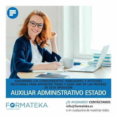 Auxiliar Administrativo Estado