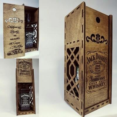 Коробка - пенал для бутылки