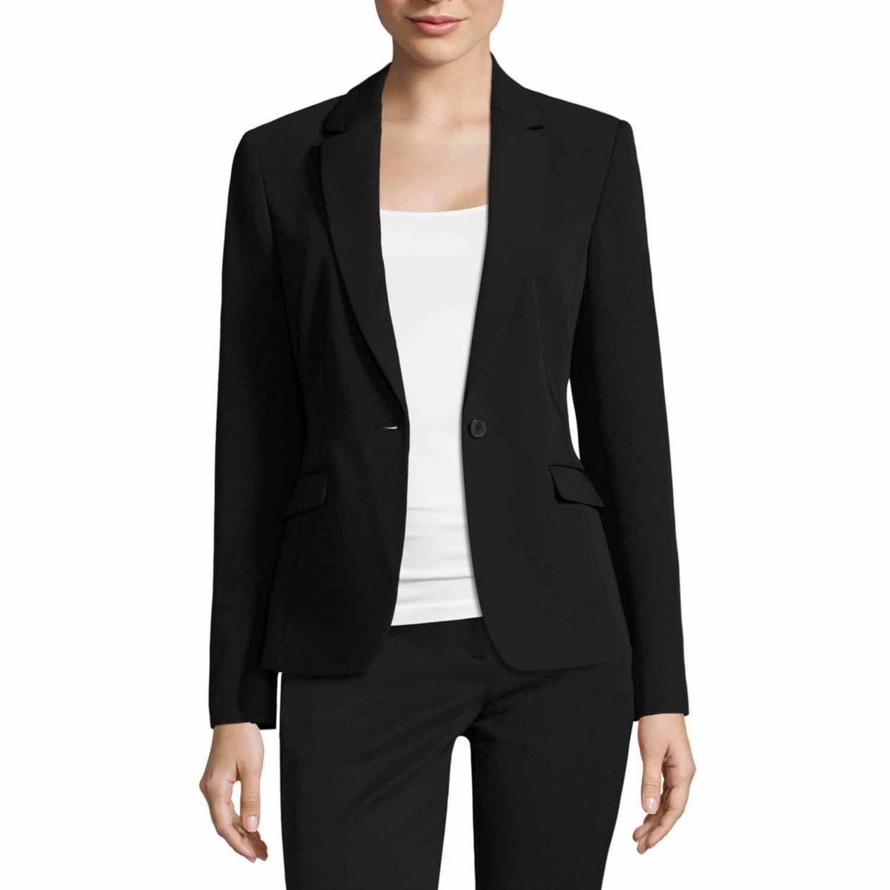 Women's Regular Black Blazer