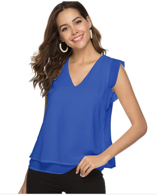 Women's Blue Blouse