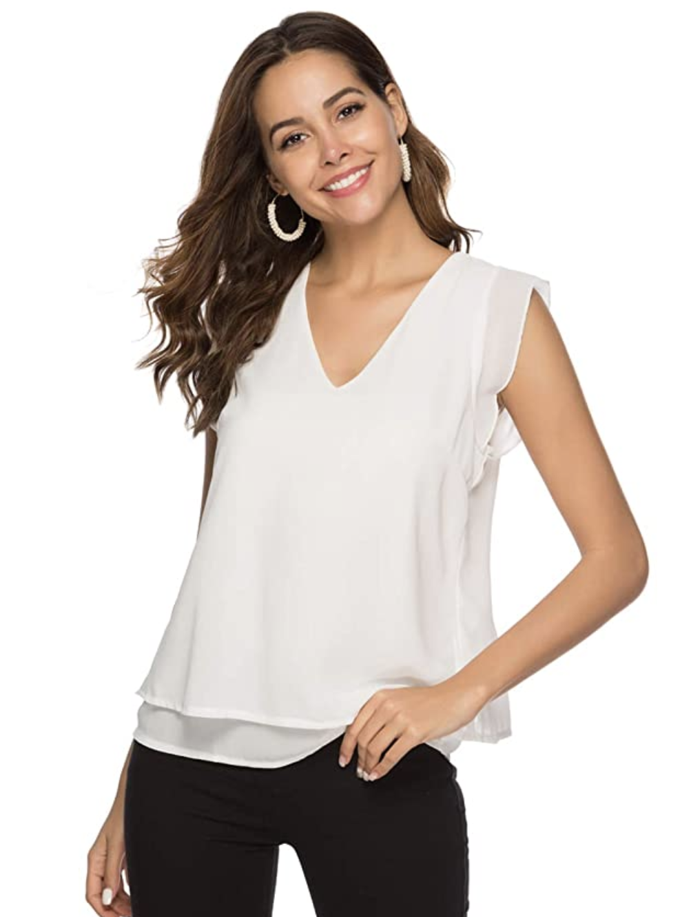 Women's White Blouse