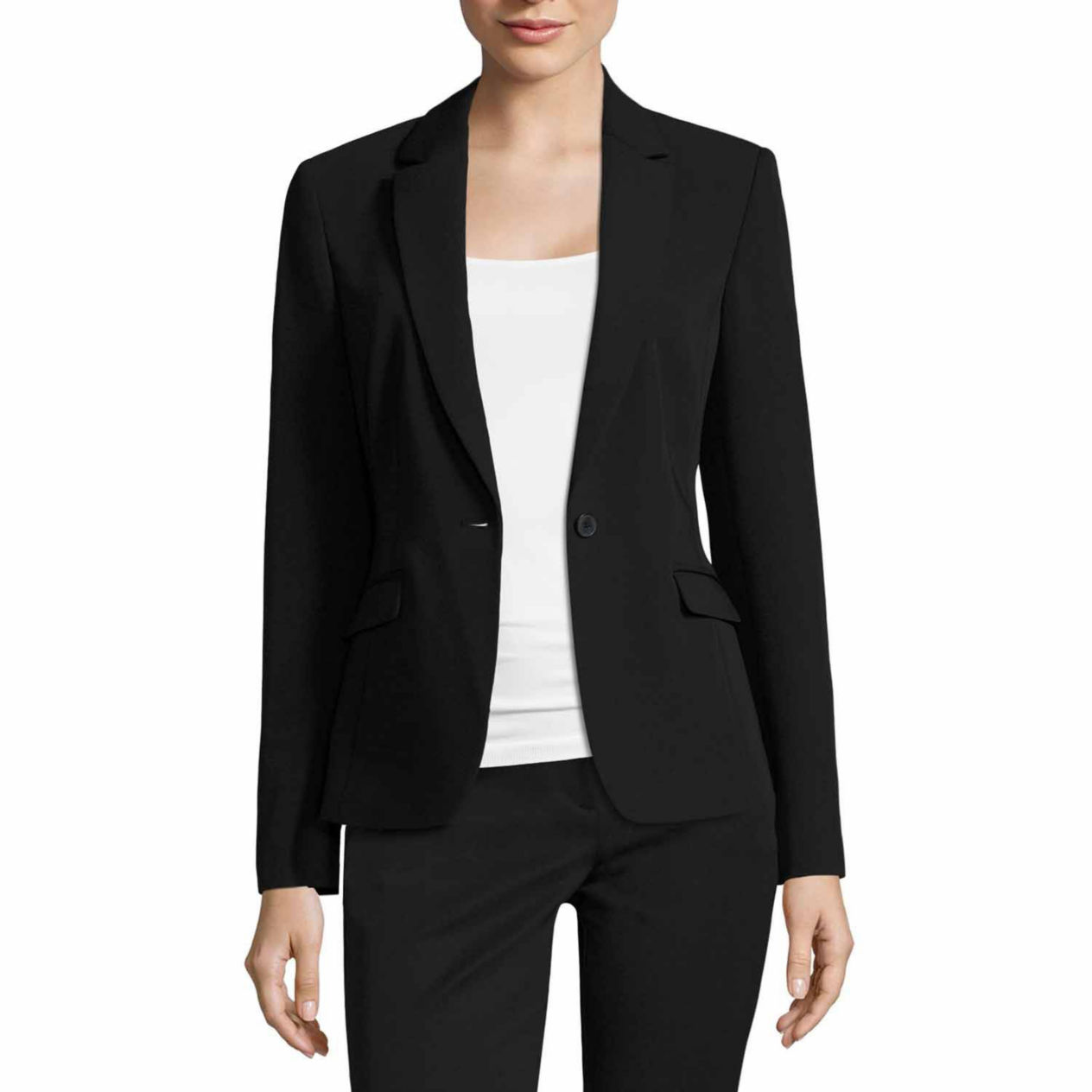 Women's Petite Black Blazer
