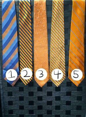 Orange Ties