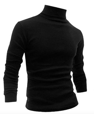 Men's Black Turtleneck