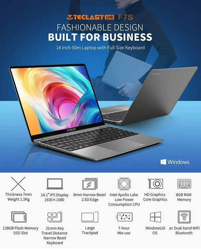 Ноутбук Teclast F7S
