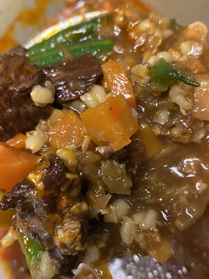 Frozen | Beef And Barley Soup DF