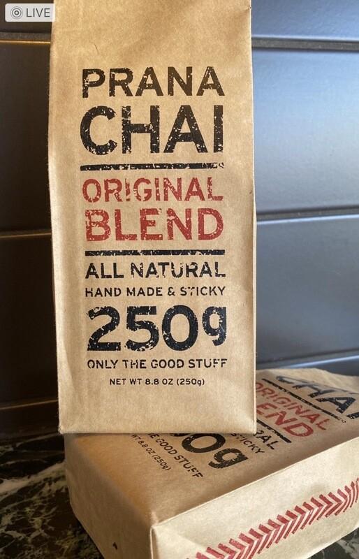 Prana Wet Sticky Chai - Original Masala Blend 250gm