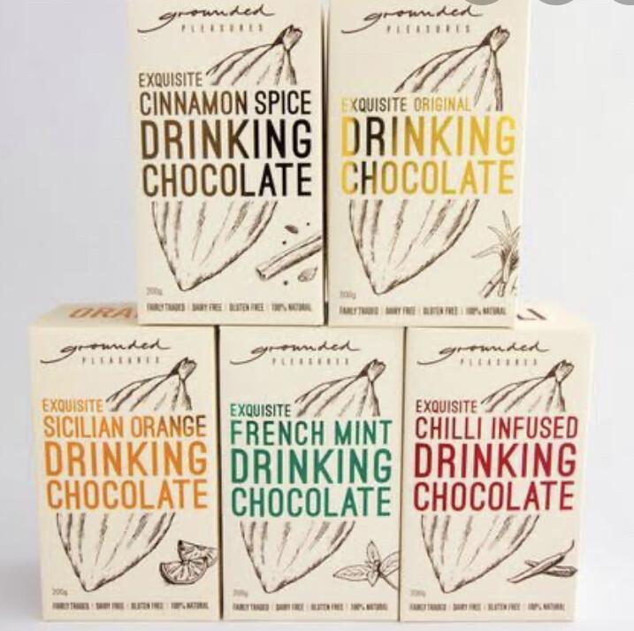 Exquisite Drinking Chocolate Powder GF V