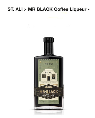 ST. Ali Mr BLACK |  COFFEE LIQUER 700ml