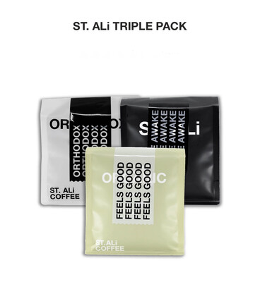 "St. Ali "" Triple Pack "" 250gm ~ Coffee Beans"