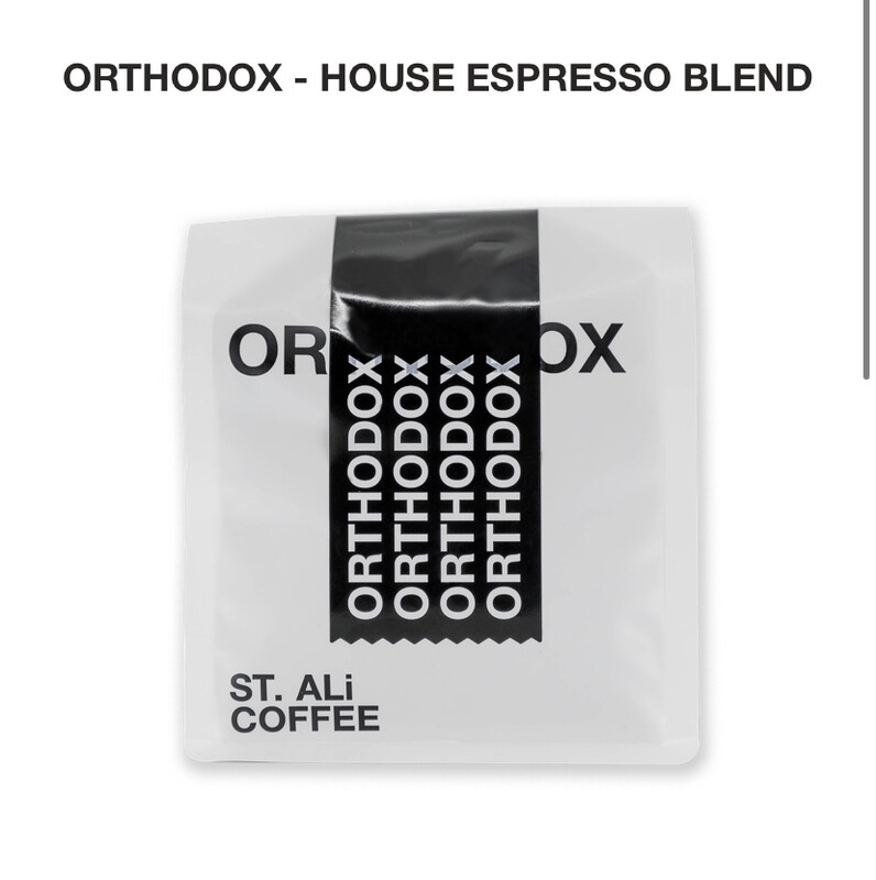"St. Ali "" Orthodox Blend "" Signature Espresso Blend Coffee Beans"