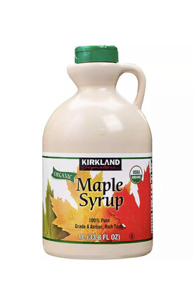 Pure Maple Syrup ~ 1L Bottle ~ 100% Organic