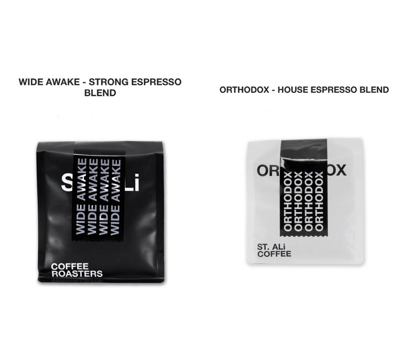 "St. Ali "" Double Team "" Espresso Coffee Beans x 2"