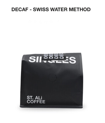 "St. Ali "" Decaf "" Swiss Water Coffee Beans"