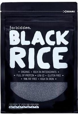 Forbidden Black Rice ~ 100% Organic , GF 1250gms