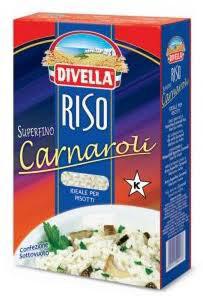 """Risotto Carnaroli Rice ~ """" Divella"""" Superfino 1kg"""