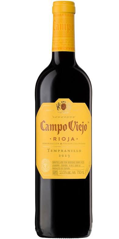Campo Viejo Tempranillo 2017 ~ RIOJA D.O.C Wine