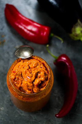 Ajvar Relish w/ roasted Pepper (Mild)- Traditional Home Made 660gms