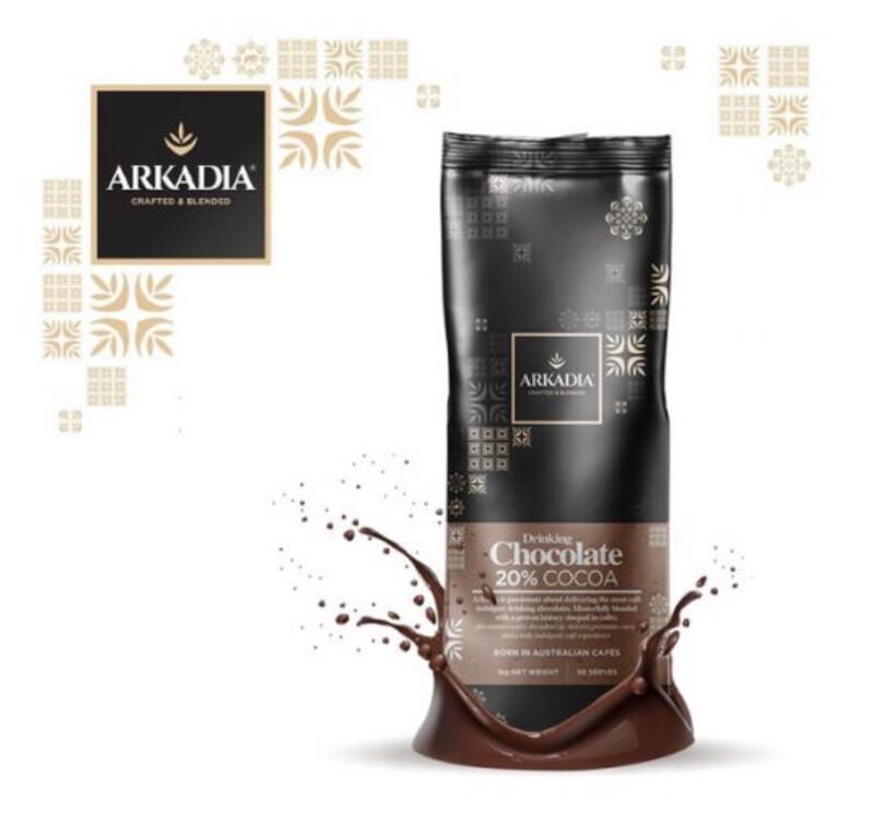 ARKADIA DRINKING CHOCOLATE POWDER 20%
