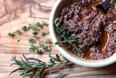 GABS HOME MADE : OLIVE TAPENADE | SPREAD - AUTHENTIC GOURMET RANGE