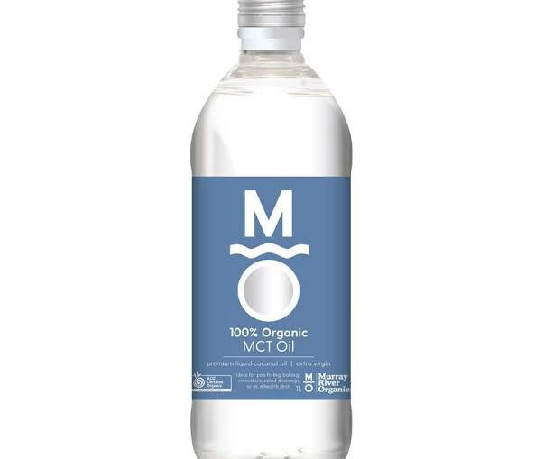 MURRAY RIVER ORGANICS MCT PREMIUM LIQUID COCONUT OIL 1ltr