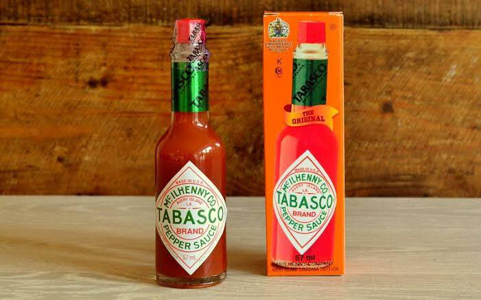 TABASCO ORIGINAL HOT PEPPER SAUCE 350ml