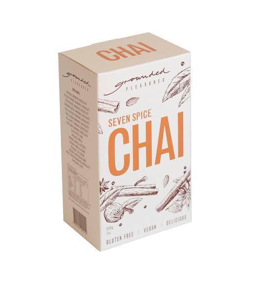 SEVEN SPICE CHAI 200gm BOX GF V
