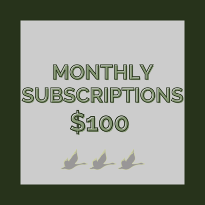 Subscription  Monthly Offer - $100 Value - Coffee  | Meals | Retail : $10 Credit In Store
