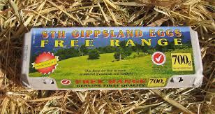 """Free Range Eggs """"Sth Gippsland"""" 700g"""