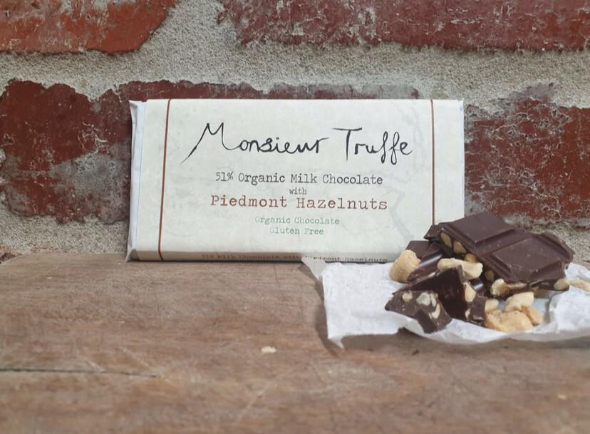 Monsieur Truffe Organic  | Milk Chocolate Bar GF