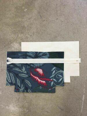 Nature Pattern Zip Purse Kit