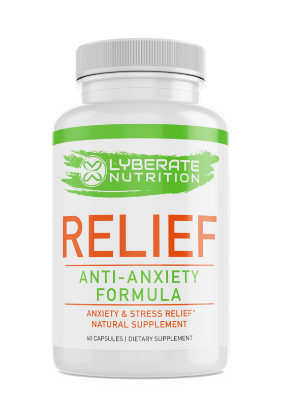 RELIEF: Anti-Anxiety Proprietary Blend