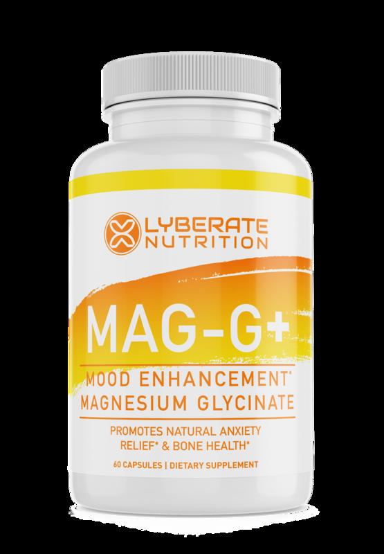 MAG-G+ Mood Enhancement Magnesium Glycinate