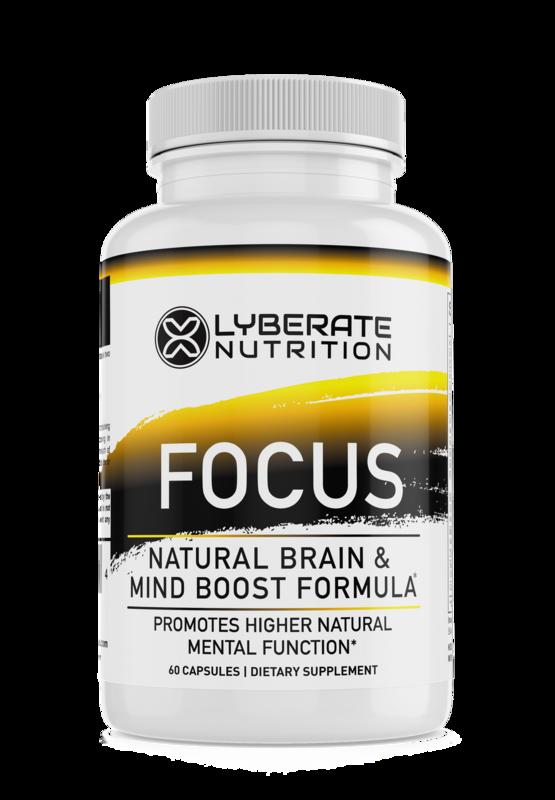 FOCUS-Natural Brain and Mind Boost Formula