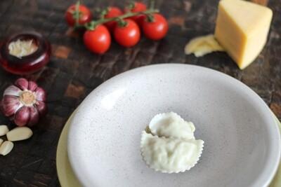 Raviolli de Grana Padano com Limão Siciliano