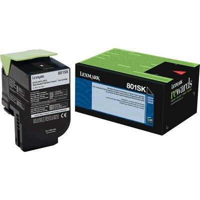 Lexmark Toner 80C1Sk0 Black