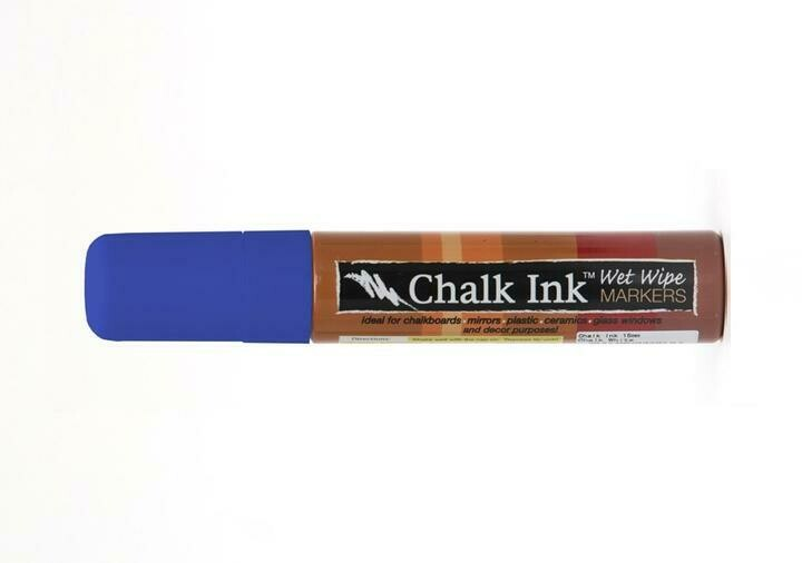 Marker Wet Wipe Chalk Pacific Blue 15Mm