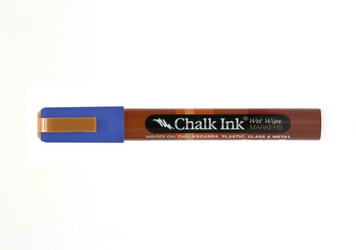 Marker Wet Wipe Chalk Pacific Blue 6Mm