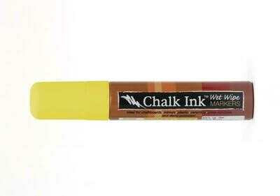 Marker Wet Wipe Chalk Smiley Face Yellow 15Mm