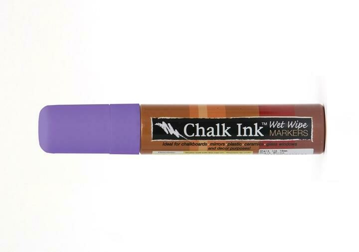 Marker Wet Wipe Chalk Grape Jelly 15Mm