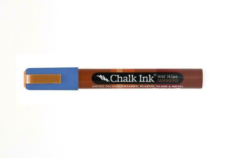 Marker Wet Wipe Chalk Grover Blue 6Mm