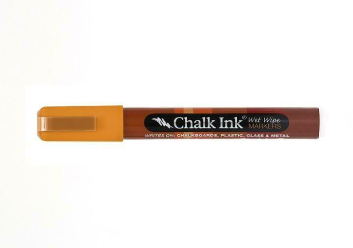 Marker Wet Wipe Chalk Candy Corn Orange 6Mm