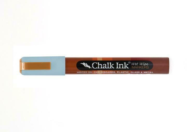 Marker Wet Wipe Chalk Granny Bird Blue 6Mm