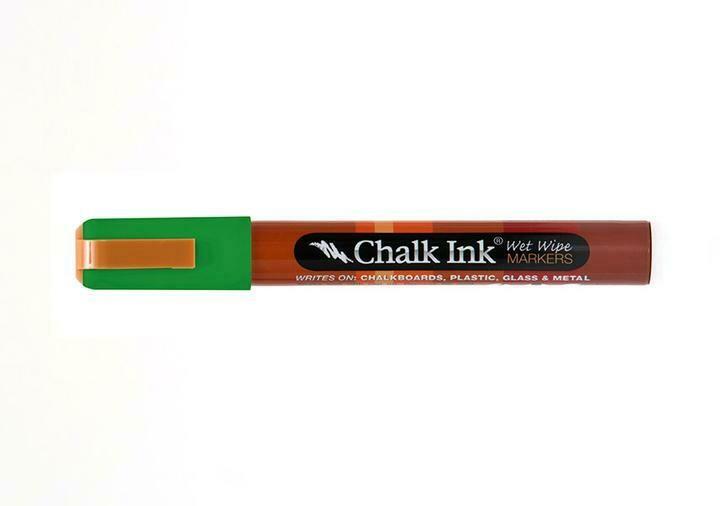 Marker Wet Wipe Chalk Astroturf Green 6Mm