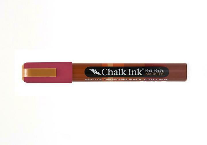 Marker Wet Wipe Chalk Cayenne Pepper 6Mm