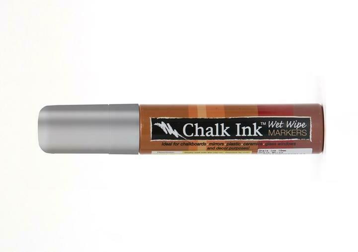 Marker Wet Wipe Chalk Metallic Sheet Metal 15Mm