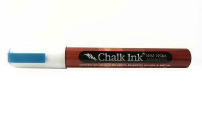 Marker Wet Wipe Chalk Great White Bullet Tip