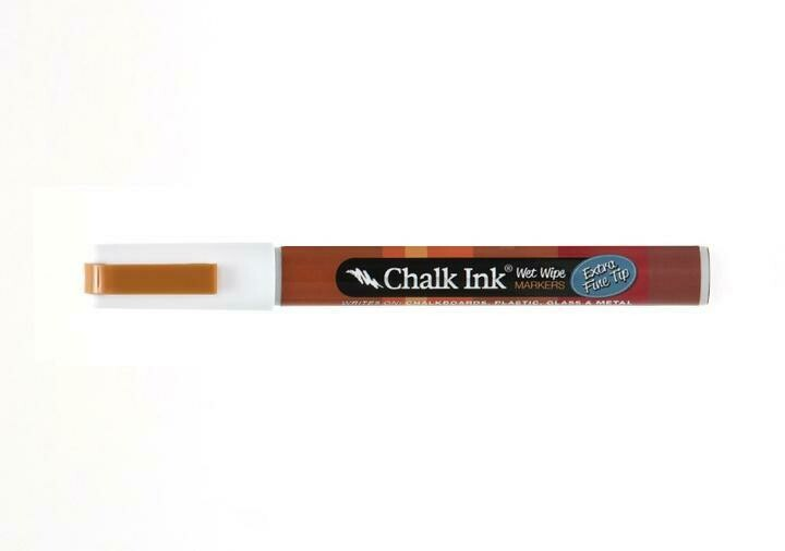 Marker Wet Wipe Chalk Chalk White 0.5Mm