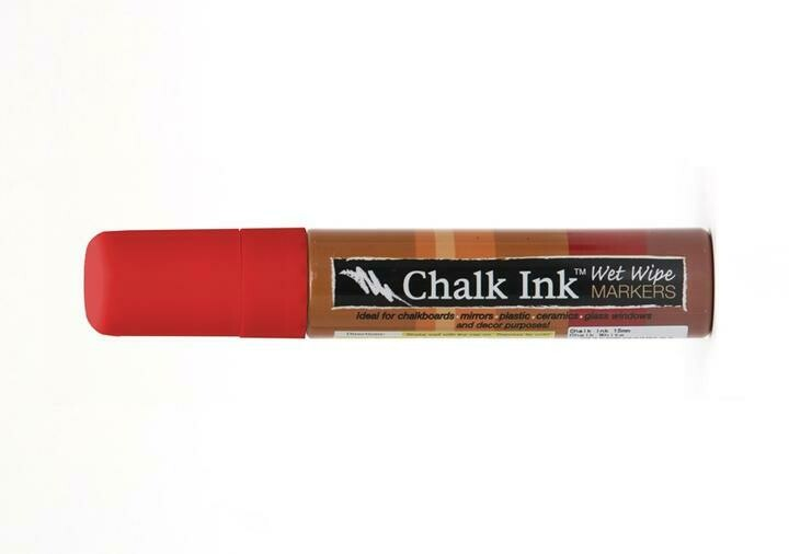 Marker Wet Wipe Chalk Clown Nose Red  15Mm